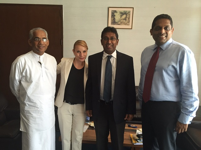 image of Stephanie's visit to Colombo